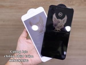 Dán cường lực iPhone 8 Plus - KINGKONG chống nhìn trộm